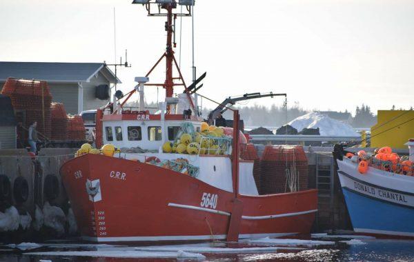 C.R.R crab boat